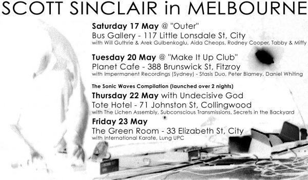 17 May 2003 – Scott Sinclair – Melbourne, Australia