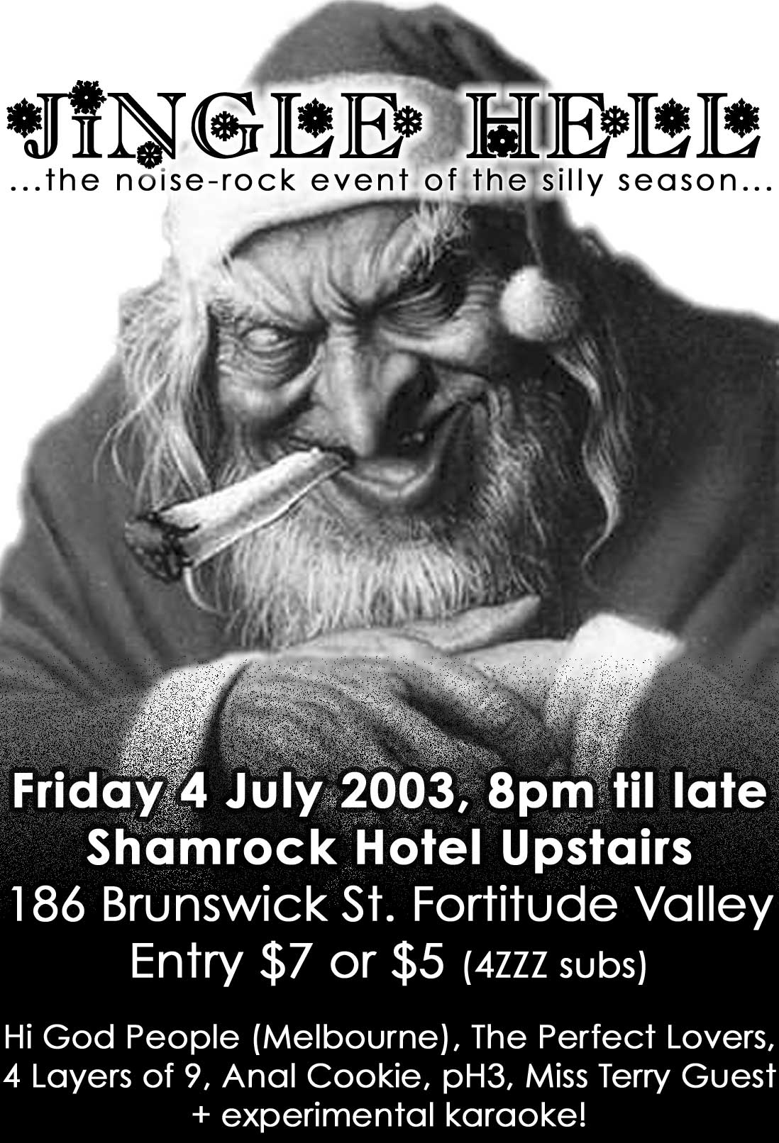 Jingle Hell – Brisbane, Australia – 2003