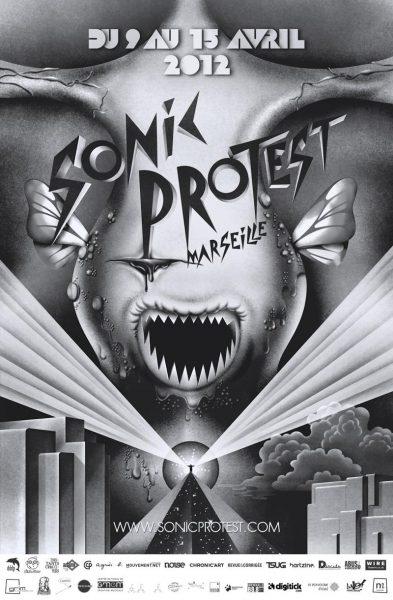 12 April 2012 – Botborg – Marseille, France – Festival Sonic Protest