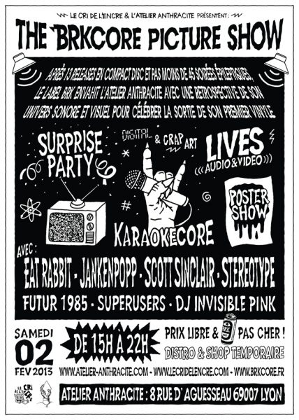 The Superusers – Lyon, France – The BRKCORE Picture Show – 2013