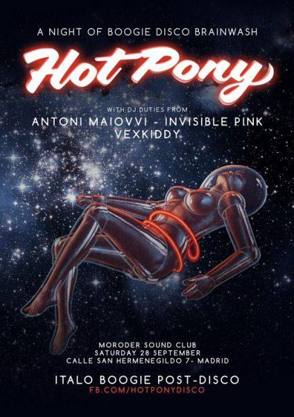 28 September 2013 – DJ Invisible Pink – Madrid, Spain
