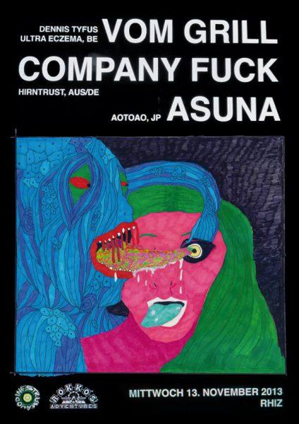 13 November 2013 – Company Fuck – Vienna, Austria