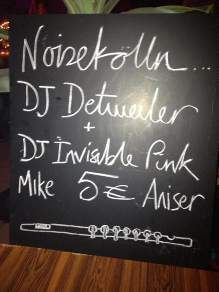 DJ Invisible Pink – Berlin, Germany – 2014