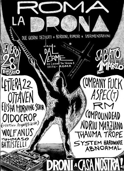1 March 2014 – Company Fuck – Rome, Italy