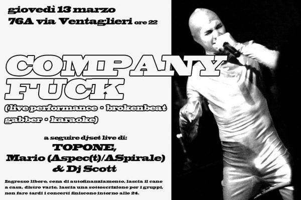 13 March 2014 – Company Fuck – Naples, Italy