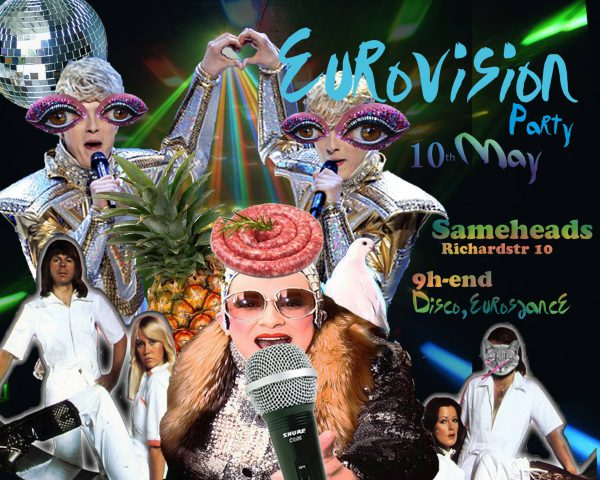 10 May 2014 – Eurovision Party – Berlin, Germany