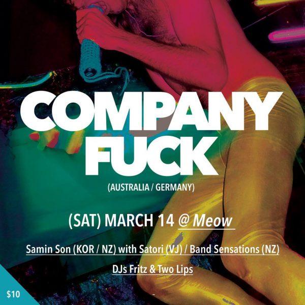 Company Fuck – Wellington, New Zealand