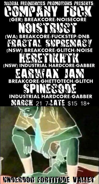 21 March 2015 – Company Fuck – Brisbane, Australia