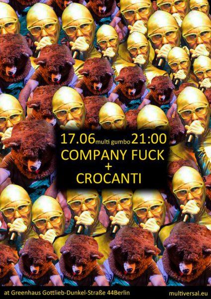 17 June 2015 – Company Fuck and Crocanti – Berlin, Germany