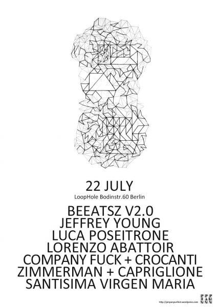 22 July 2015 – Company Fuck and Crocanti – Berlin, Germany