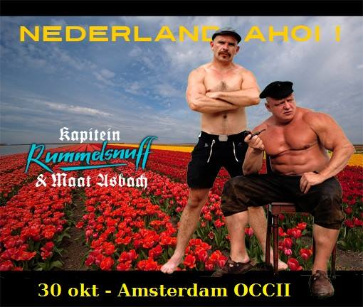 30 October 2015 – Company Fuck – Amsterdam, Netherlands