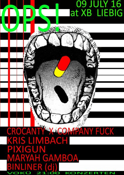 Company Fuck and Crocanti – Berlin, Germany – 2016