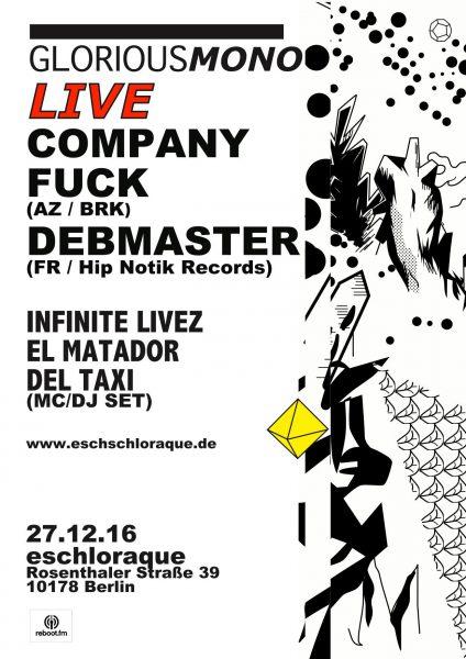 27 December 2016 – Company Fuck – Berlin, Germany