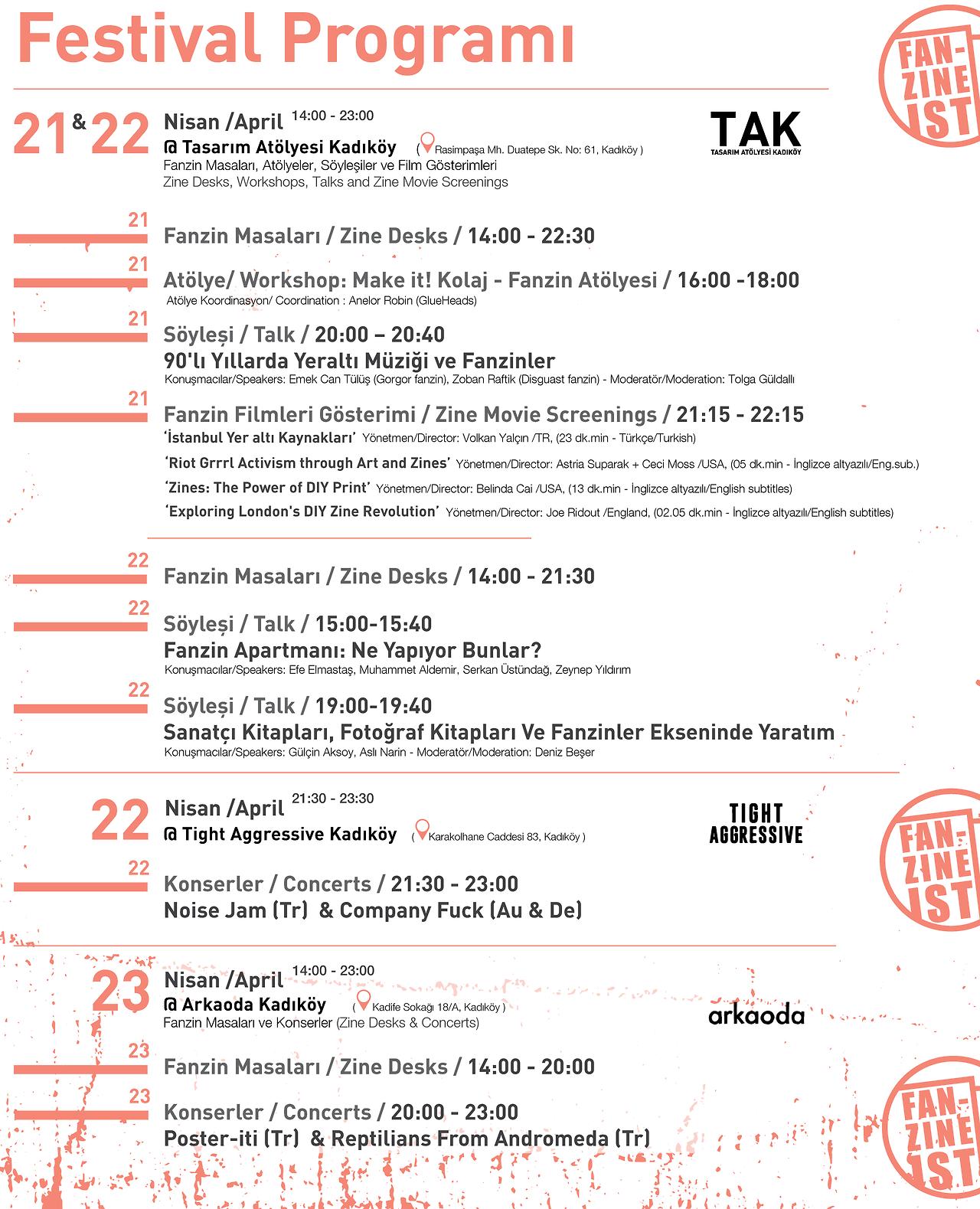 Company Fuck – Istanbul, Turkey – FanzineIst – 2017