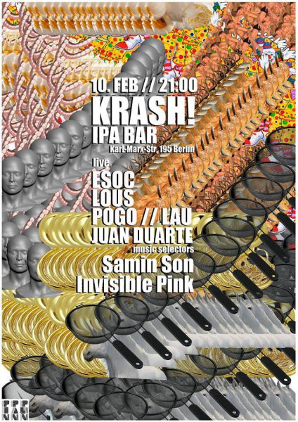 10 February 2018 – DJ Invisible Pink – Berlin, Germany