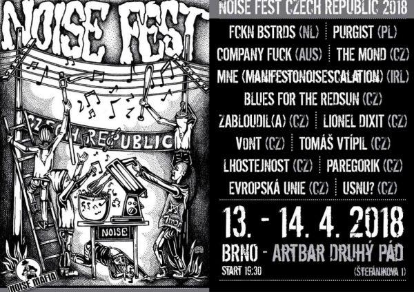 13 April 2018 – Company Fuck – Brno, Czech Republic – Noise Fest