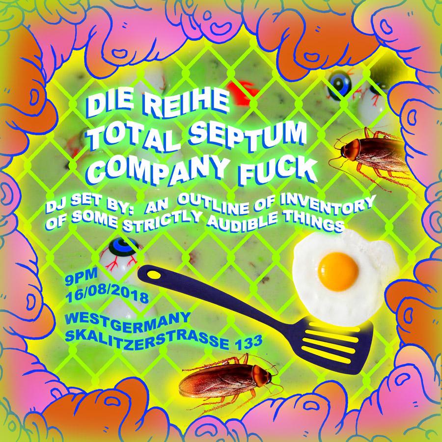 16 August 2018 – Company Fuck – Berlin, Germany