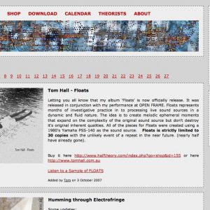 Halftheory.com Version 1 – 2004-2008
