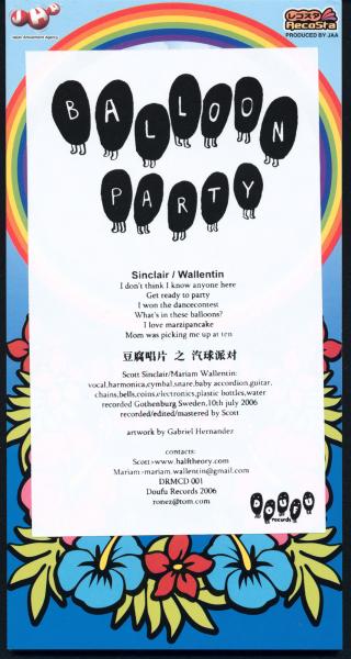 Scott Sinclair & Mariam Wallentin – Balloon Party – 2006