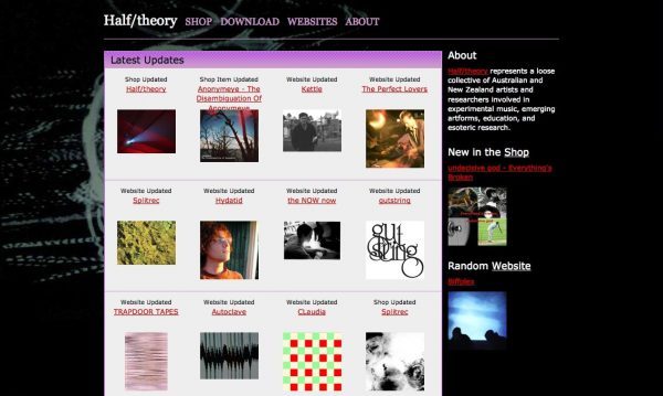 Halftheory.com Version 2 – 2008-2012
