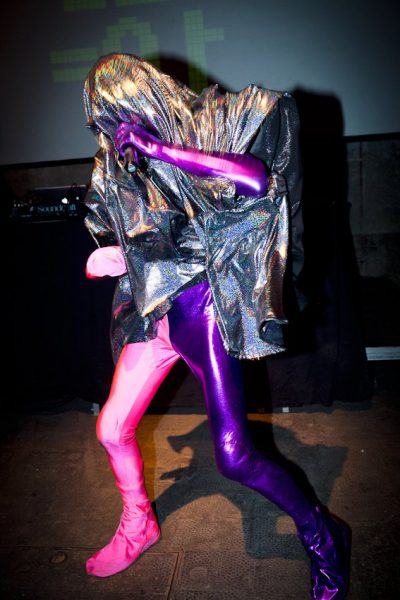 Company Fuck – Pink/Purple Costume – 2012